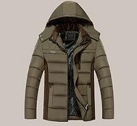 Мужской зимний пуховик. Мужская зимняя куртка Модель 915