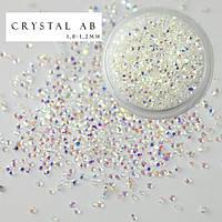 Хрустальная крошка Crystal AB 1440 шт