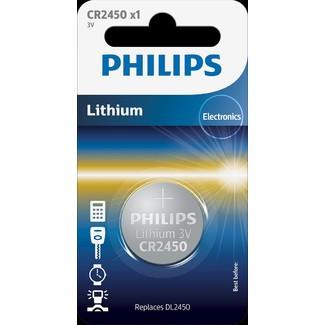 Батарейка литиевая Philips CR2450