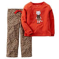 Пижама флисовая на девочку  рост до 92 см (2Т) Carters