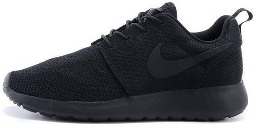 Мужские кроссовки Nike Roshe Run 🔥 (Найк роше ран) черные
