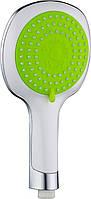Лейка для душа Deante NEO BRAVO на 3 функции, цвет зеленый