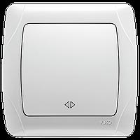Выключатель 1-кл.перекрестный  белый ViKO Carmen