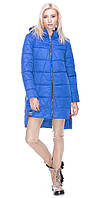 Куртка с врезкой голубая 48 зима