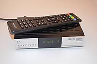 DVB-T2 Тюнер (ресивер) T2! World Vision Premium AC3 RF модулятор