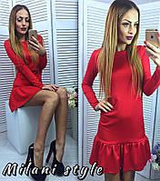 Расклешенное платье (арт. 415707762)