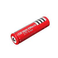 Аккумулятор 18650-4200mAh, красный