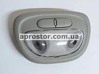 Плафон освещения салона (штурманский) Нубира передний(GM)в сборе 96258032