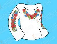 Заготовка для сорочки под вышивку (детская 4-9 лет)