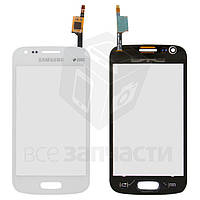 Тачскрин для Samsung S7270/S7272 Galaxy Ace 3 Duos, белый, оригинал (Китай)