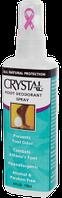 Дезодорант-спрей для ног Кристалл, 118 мл, Crystal