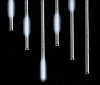 Внутренняя Светодиодная Гирлянда Тающие Сосульки LED 30 см Бегущая Капля Белые 8 шт, фото 1