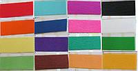 Папір кольоровий Гофрований 20г/м2 50х200см (креп папір KR35) 35% Різні кольори уп10