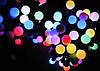 Внутренняя Светодиодная Гирлянда Шарики Новогодняя на Елку 1,2 см 100 LED Мульти