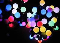 Внутренняя Светодиодная Гирлянда Шарики Новогодняя на Елку 1,2 см 100 LED Мульти, фото 1