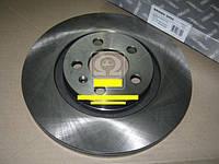 Диск тормозной SKODA OCTAVIA 97-/VW GOLF IV передн. (RIDER)