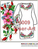 Заготовка для вишивки жіночого плаття С-6009на габардині