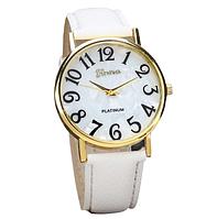 Часы женские наручные белые арт. 0039