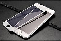 3D стекло для iphone 6/6s на весь экран white