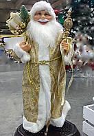 Дед мороз золотистный 60 см. Игрушки под елку., фото 1