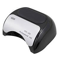 Гибридная лампа Professional nail CCFL+LED 48W BLACK