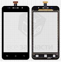 Сенсор, тачскрин  Pioneer E60W; Prestigio MultiPhone 4322 Duo, черный, TF0200C-YNE B088-A600 FPC