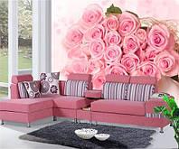 """Фотообои """"Розовый букет"""" , фото 1"""