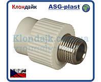 Полипропиленовая муфта 20х1/2 РН ASG-Plast (Чехия)