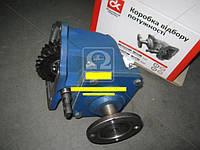 Коробка отбора мощности (под карданчик)(шестер. двойная) ГАЗ 53,3307 (спецтехника, корп. чугун)