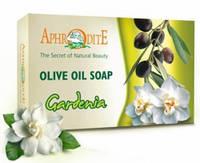 Натуральное оливковое мыло с гарденией, 125 г