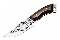 Нож для охоты Носорог, с чехлом, ножи для охоты, нож охотника, амуниция охотника, ножи