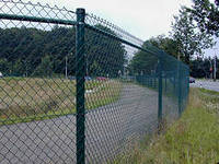 Забор (сетка рабица, сварной)