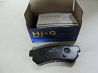 Тормозная колодка задняя Лачетти 07- нового образца  (Корея) SP1257
