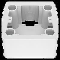 Коробка для наружного монтажа одинарная (белый)  Viko Carmen