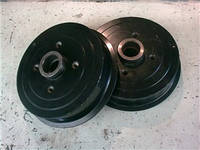 Тормозной барабан задний Ланос/Нексия/Эсперо (черный)со ступицей 96193771