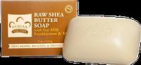 Мыло на основе масла Ши с соевым молочком, ладаном и миррой, Nubian Herritage, 140 г повреждена упаковка