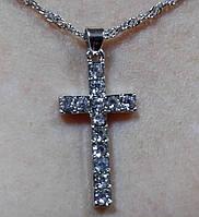 Цепочка с крестиком арт.0109
