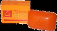 Мыло морковь и гранат с экстрактом календулы и клюквы, Nubian Herritage, 140 г