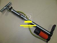 Насос ручной с ресивером и манометром 38x500mm