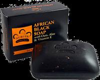 Африканское черное мыло Нубийское Наследие, Nubian Heritage, 140 г