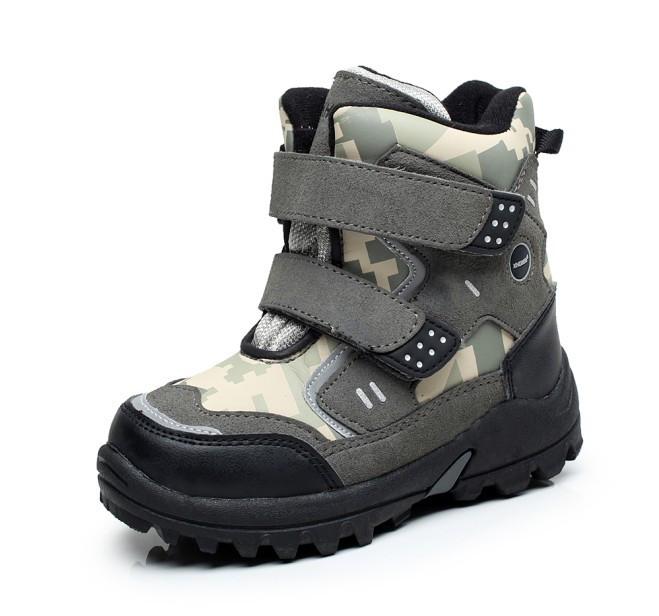 6314e7e54 Детские ботинки KHOMBU Khaki - интернет-магазин beri.ua. Купить ...