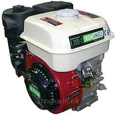 Двигатель IRON ANGEL E 200-2 (6,5 л.с. бензин, фильтр в масляной ванне)