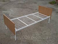Кровать односпальная (сетка) с элементами ДСП