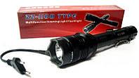 Электрошокер Titan Police 1108, Титан 1108, фонарик 3 режима, электрошокеры, самый мощный шокер, 100 000KV