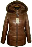 Красивая женская зимняя куртка