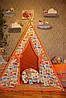 """Детский игровой домик, вигвам, палатка, шатер, шалаш, вігвам, будинок дитячий """"Слонята"""""""