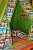 """Детский игровой домик, вигвам, палатка, шатер, шалаш """"Гонщик"""""""