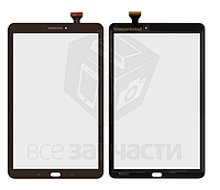 Сенсор,тачскрин Samsung T560 Galaxy Tab E 9.6, T561 Galaxy Tab E, T567, коричневый, MCF-096-2205