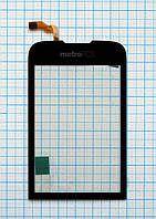 Тачскрин сенсорное стекло для Huawei U8230 black