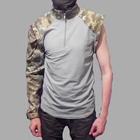 Тактическая рубашка UBACS (укр. пиксель) серая, фото 1